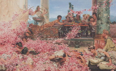 Sir Lawrence Alma-Tadema, 'The Roses of Heliogabalus', 1888