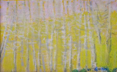 Wolf Kahn, 'Green Bush in the Corner', 2016