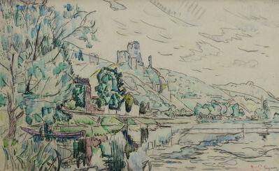 Paul Signac, 'Petit Andély, Château Gaillard ', 1923