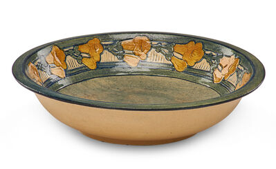 Mary W. Butler, 'Early bowl with yellow trumpet flowers', 1908