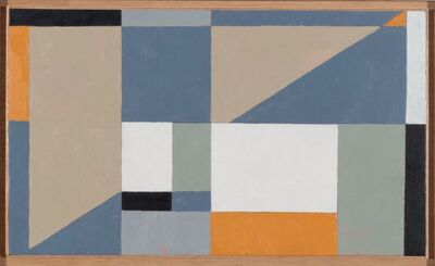 George Dannatt, 'Painting with Two Triangles', 2005