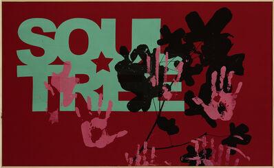 Walter Dahn, 'Soultree (red)', 2014