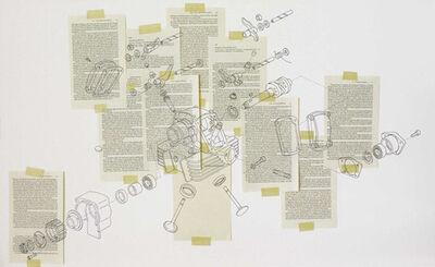 Domenico Antonio Mancini, 'Exercice sur la chose #4', 2012