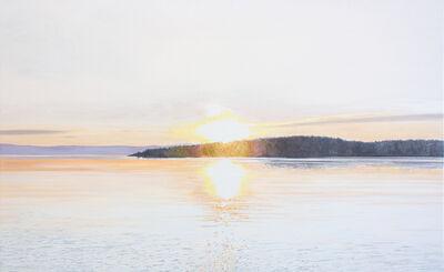 Julie Desmarais, 'Soleil couchant (Kamouraska, Québec)', 2019