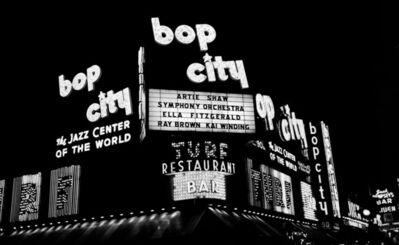Herman Leonard, 'Bop City,  Ray Brown,  Ella Fitzgerald,  Artie Shaw,  Kai Winding', 1953
