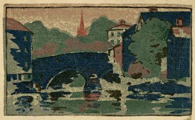 Arthur Wesley Dow, 'Choate Bridge, Ipswich', ca. 1895