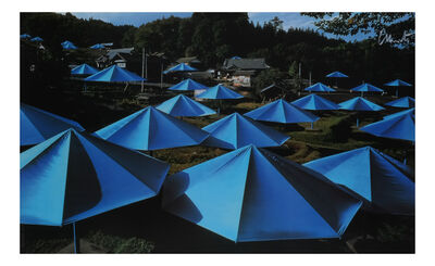 Christo and Jeanne-Claude, 'The Umbrellas, Ibaraki, Japan', 1991