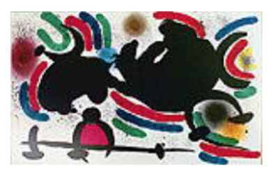 Joan Miró, 'Miro Lithograph Volume I Plate IV', 1972