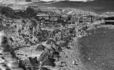 Richard Mosse, 'Souda Camp, Chios Island, Greece', 2017