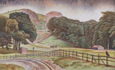 Douglas Percy Bliss, 'Blackford Hill Edinburgh', 1930