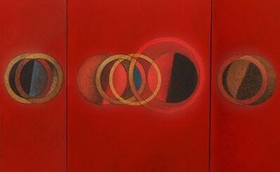 CARLOS GONZÁLEZ, 'Tríptico en Rojo', 2011