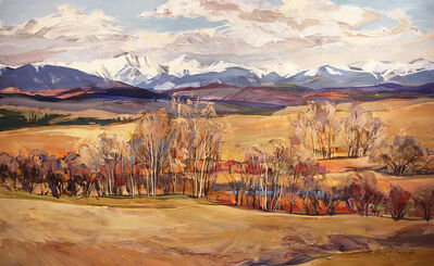Brent Laycock, 'Early Spring in the Foothills', 2019