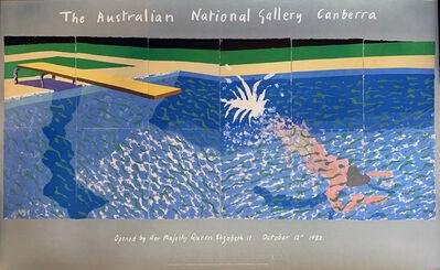 David Hockney, 'A Diver', 1978