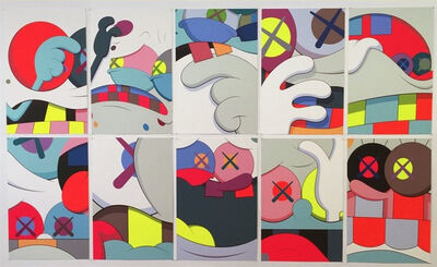 KAWS, 'BLAME GAME (full portfolio)', 2014