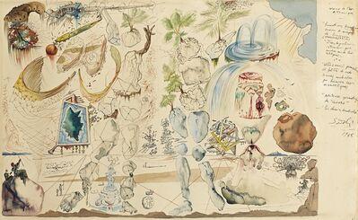 Salvador Dalí, 'Vision de l'age atomique', 1948