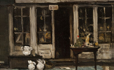 Frank Duveneck, 'Antique Shop', 1906