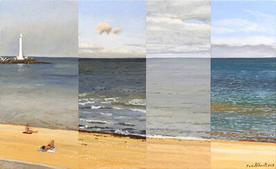 Tom Alberts, 'Four Views of St Kilda Beach', 2017