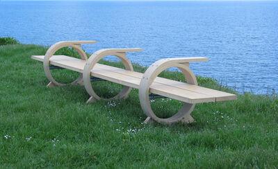 Petter Bjørn Southall, 'Three Ring Bench', 2005