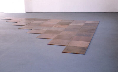 Carl Andre, 'Cyprigene Sum', 1994