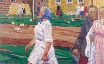 Aleksey Ivanovich Butov, 'Kolkhoz (Collective farm)', 1965
