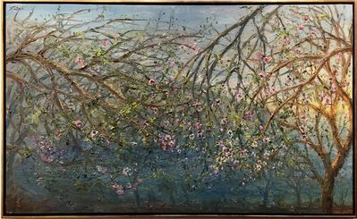 Bruno Zupan, 'Almond Trees in Bloom, Coast Road ', 2017