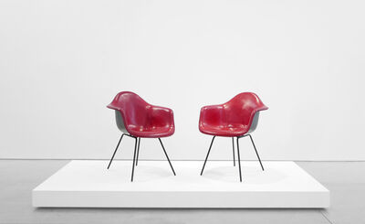 Charles and Ray Eames, 'Pair of 'DAX' Chairs', 1954