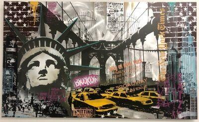 Michel Friess, 'New York Collage Mix', 2018
