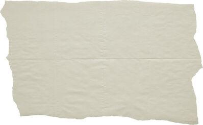 Sol LeWitt, 'Folded Drawing (white on white)', 1973