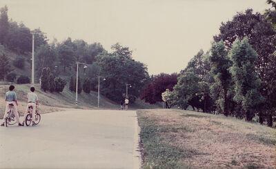 Luigi Ghirri, 'Giardini quartiere QT8', 1987