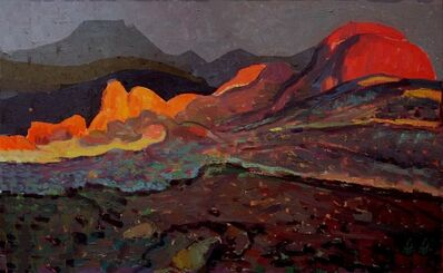 Yuman Zeng, 'The Red Rocks', 2013