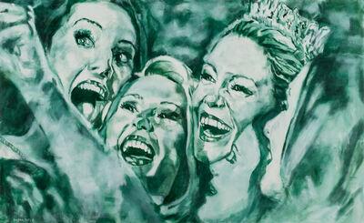 Daena Title, 'Green Selfie', 2017