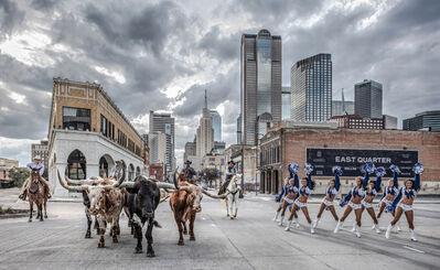 David Yarrow, 'The Dallas Cowboys', 2020