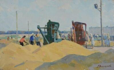 Aleksandr Timofeevich Danilichev, 'Harvest collecting', 1958