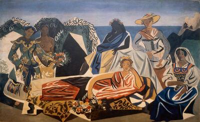 Gino Severini, 'La moda nel tempo', 1945