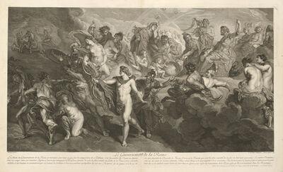 Peter Paul Rubens, 'Le gouvernement de la reine', 1710