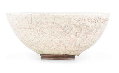 Glen Lukens, 'Small bowl, polychrome crackle glaze, Los Angeles, CA'