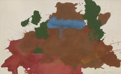 Helen Frankenthaler, 'Mountain Pool', 1963