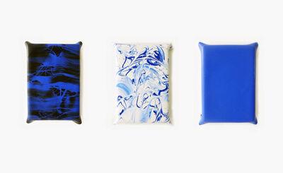 Berta Kolteniuk, '3 estados de azul', 2016