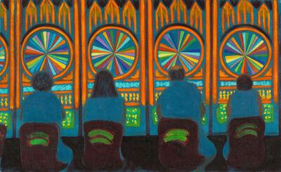 Jane Dickson, 'LV56 (Wheel of Fortune)', 2011