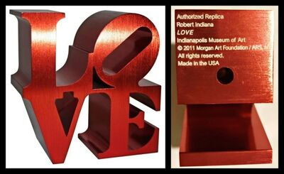 Robert Indiana, 'LOVE (Indianapolis Museum, Official Artist & Foundation Authorized)', 2011