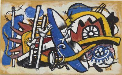 Fernand Léger, 'Les oiseaux sur l'échelle', 1943