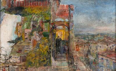 John Cobb, 'The Italian Dream (Ms. Geyer at Lara, Italy) and the Villa at Coolin Gali', 2018