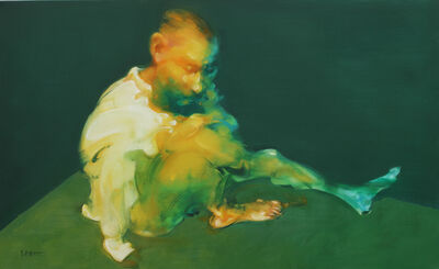 Wu Jianjun, 'Man Sitting in The Corner', 2014