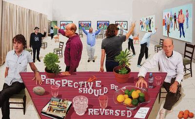 David Hockney, 'Perspective Should Be Reversed', 2014