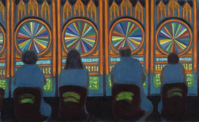 Jane Dickson , 'Wheel of Fortune', 2012