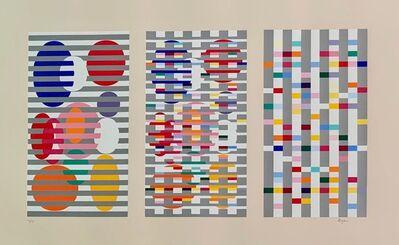 Yaacov Agam, 'Untitled (Triptych)', Late 20th century