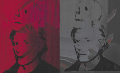 Andy Warhol, 'Self-Portrait with Skull', 1978