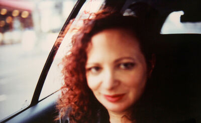 Nan Goldin, 'Self-portrait in the taxi, Paris', 2004