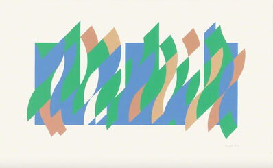 Bridget Riley, 'Wall Painting 1', 2007