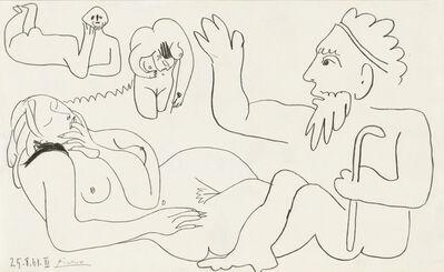 Pablo Picasso, 'Les Déjeuners', 1961